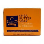 [Nubian Heritage] Bar Soap Shea Butter, Lav/Wild Flower