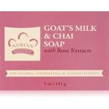 [Nubian Heritage] Bar Soap Goats Milk & Chai