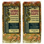 [Sierra Soups] All Natural Vegetarian Soup Mix French Style, 5 Bean