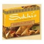 [Sukhi`S] Indian Bites Potato Samosas, Handcrafted