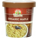 [Dr. Mcdougall`S] Breakfast Grain Cups Maple Oatmeal, GF  At least 95% Organic