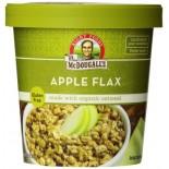 [Dr. Mcdougall`S] Breakfast Grain Cups Apple Flax Oatmeal, GF  At least 70% Organic