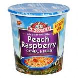 [Dr. Mcdougall`S] Breakfast Grain Cups Hemp Peach Oatmeal, GF  At least 70% Organic