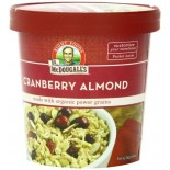 [Dr. Mcdougall`S] Breakfast Grain Cups Cranberry Almond Power Grains  At least 70% Organic