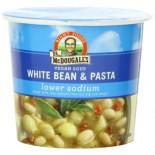 [Dr. Mcdougall`S] Light Sodium Soup Cups White Bean & Pasta