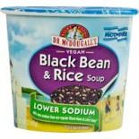 [Dr. Mcdougall`S] Light Sodium Soup Cups Black Bean & Rice