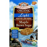 [Dr. Mcdougall`S] Organic Light Boxed Oatmeals Maple Brown Sugar  At least 95% Organic