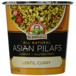 [Dr. Mcdougall`S] Asian Entrees Curry Lentil Pilaf, Gluten Free