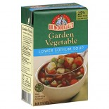 [Dr. Mcdougall`S] Ready To Serve Aseptic Soups Garden Vegetable, Light Sodium