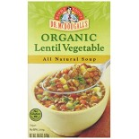 [Dr. Mcdougall`S] Ready To Serve Aseptic Soups Lentil Vegetable  At least 95% Organic