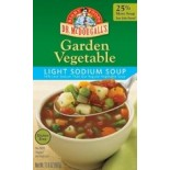 [Dr. Mcdougall`S] Ready To Serve Aseptic Soups Vegetable, Lower Sodium  At least 95% Organic