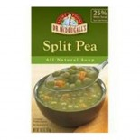 [Dr. Mcdougall`S] Ready To Serve Aseptic Soups Split Pea  At least 95% Organic