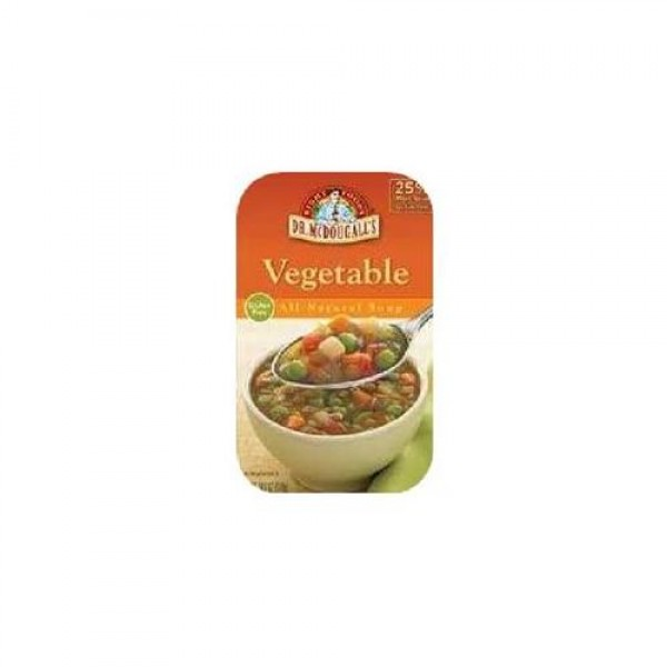 [Dr. Mcdougall`S] Ready To Serve Aseptic Soups Vegetable  At least 95% Organic