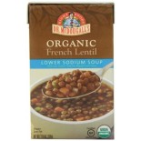 [Dr. Mcdougall`S] Ready To Serve Aseptic Soups French Lentil, Lower Sodium  At least 95% Organic
