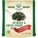 [Lisa`S Kitchen]  Spinach/Swiss Chard Rstd Gar Sce  At least 95% Organic
