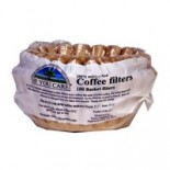 [If You Care] Unbleached Coffee Filters Basket, 8