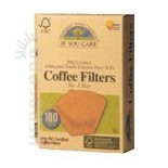 [If You Care] Unbleached Coffee Filters Cone #2