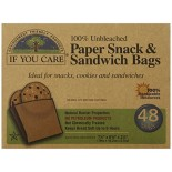 [If You Care] Waxed Bags Sandwich, Paper