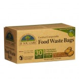 [If You Care] Plastic Bags Kitchen, Bio-Plastic, 3gal