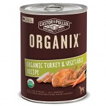 [Castor & Pollux] Organix Dog Food Turkey & Chicken Canned DOG  At least 95% Organic