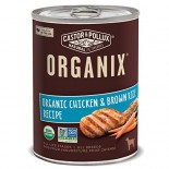 [Castor & Pollux] Organix Dog Food Chicken & Brown Rice Formula  At least 95% Organic