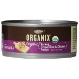 [Castor & Pollux] Organix Cat Food Turkey & Chicken Canned  At least 95% Organic