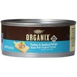 [Castor & Pollux] Organix Cat Food Turkey, Chicken, Seafood Canned  At least 95% Organic