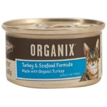 [Castor & Pollux] Organix Cat Food Turkey With Seafood  At least 95% Organic