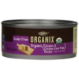 [Castor & Pollux] Organix Grain Free Cat Chicken & Chicken Liver Pate  At least 95% Organic