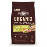 [Castor & Pollux] Organix Grain Free Cat Indoor Adult, Chkn/Peas/Trky  At least 70% Organic