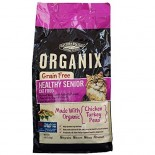 [Castor & Pollux] Organix Grain Free Cat Healthy Senior, Chkn/Trky/Peas  At least 70% Organic