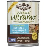 [Castor & Pollux] Ultramix Grain Free Canned Dog Beef Tripe/Chicken/Green Peas
