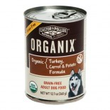[Castor & Pollux] Organix Grain Free Dog Turkey, Carrot, & Potato  At least 95% Organic
