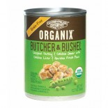 [Castor & Pollux] Organix Butcher & Bushel Grain Free Dog Chop Trky/Chkn/Chkn Liver/Peas  At least 95% Organic