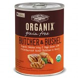 [Castor & Pollux] Organix Butcher & Bushel Grain Free Dog Chicken Wing & Thigh/Swt Pot  At least 95% Organic