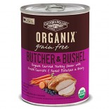 [Castor & Pollux] Organix Butcher & Bushel Grain Free Dog Carved Turkey/Carrot/Swt Pot  At least 95% Organic