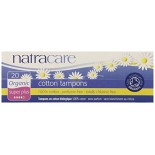 [Natracare] Organic Non-Applicator Tampons Super Plus