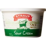 [Straus Family Creamery] Sour Cream Regular  At least 95% Organic