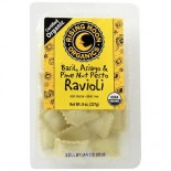 [Rising Moon Organics] Ravioli Basil, Asiago & Pinenut Pesto  At least 95% Organic