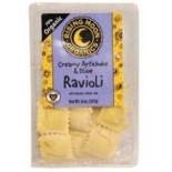 [Rising Moon Organics] Ravioli Artichoke & Klmta Olive, Vegan  At least 70% Organic