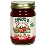 [Drew`S All Natural] Salsa Hot  At least 95% Organic
