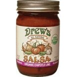 [Drew`S All Natural] Salsa Chipotle Lime  At least 95% Organic