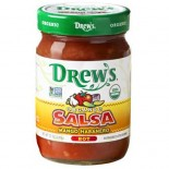 [Drew`S All Natural] Salsa Mango Habanero (Hot)  At least 95% Organic