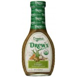 [Drew`S All Natural] Dressing/Marinade Asian Ginger  At least 95% Organic