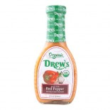 [Drew`S All Natural] Dressing/Marinade Roasted Red Pepper  At least 95% Organic