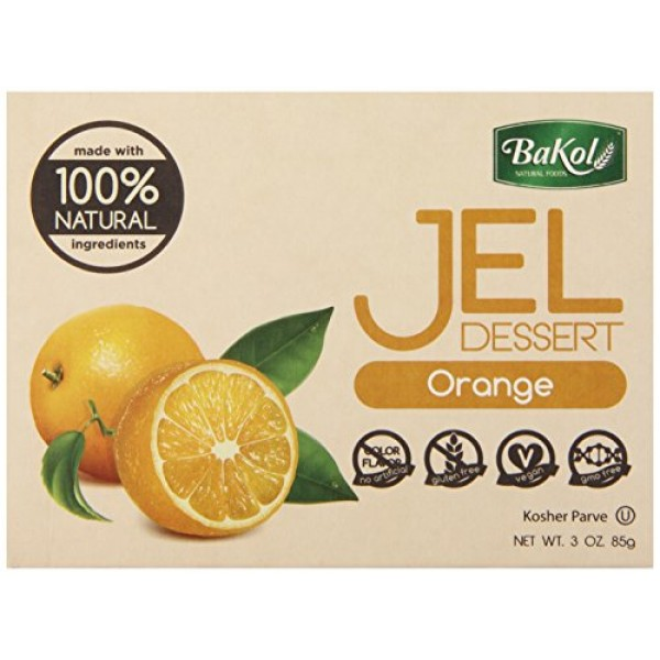 [Bakol] Jel Dessert Orange