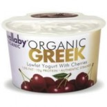 [Wallaby Organic] Greek Low Fat Yogurt Cherry  At least 95% Organic