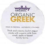 [Wallaby Organic] Greek Low Fat Yogurt Honey  At least 95% Organic