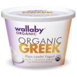 [Wallaby Organic] Greek Low Fat Yogurt Plain  At least 95% Organic
