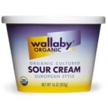 [Wallaby Organic] Sour Cream European Style  At least 95% Organic